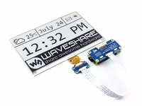 640x384 7 5inch E Ink Display HAT For Raspberry Pi Black White Two Color Display SPI