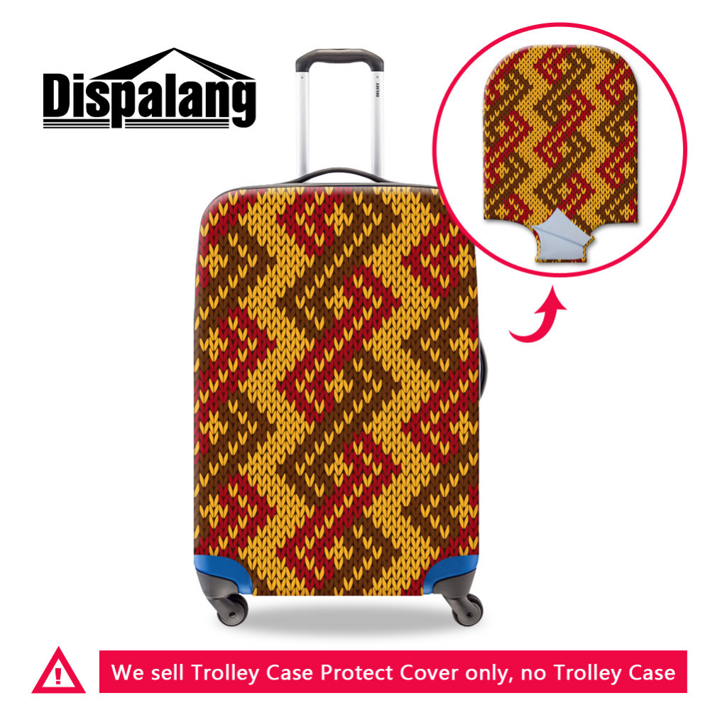 luggage protective cover -24 Thick Travel Suitcase Cover Spandex Luggage Protective Covers Apply to 18-30 Inch Trunk Case Painting Waterproof Dust Rain Cover (2)