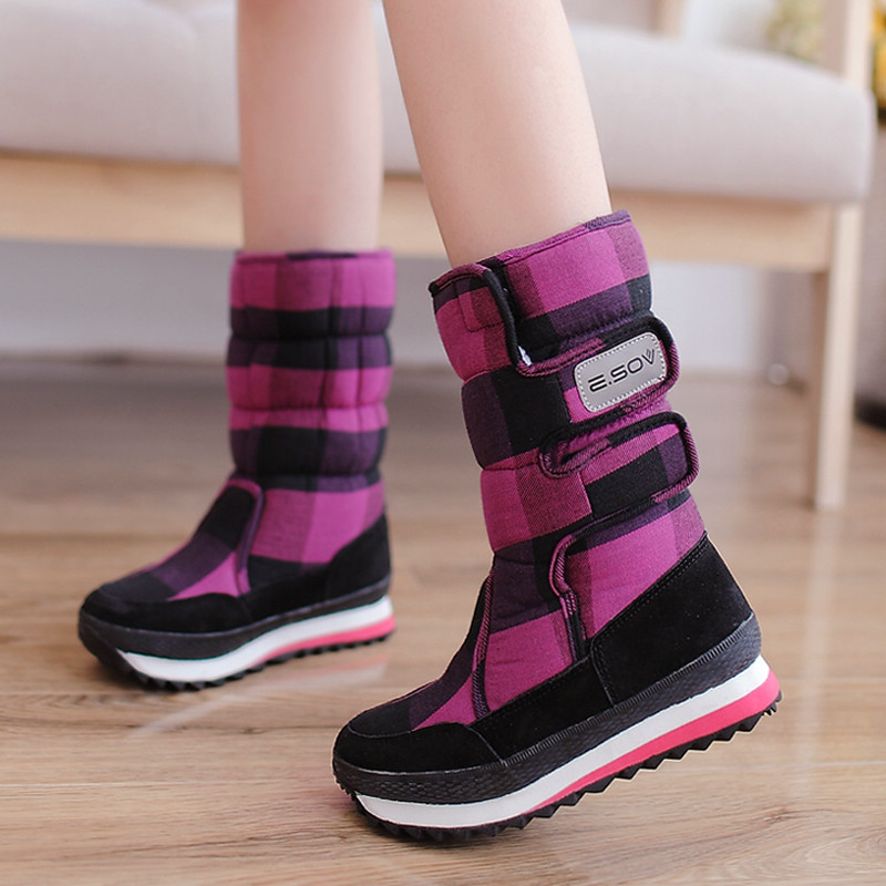 Woran Winter Boots Women Fashion Snow Boots New Style 2018 WomenS Shoes Brand Shoes High Quality Fast Free Shipping Girl Boots
