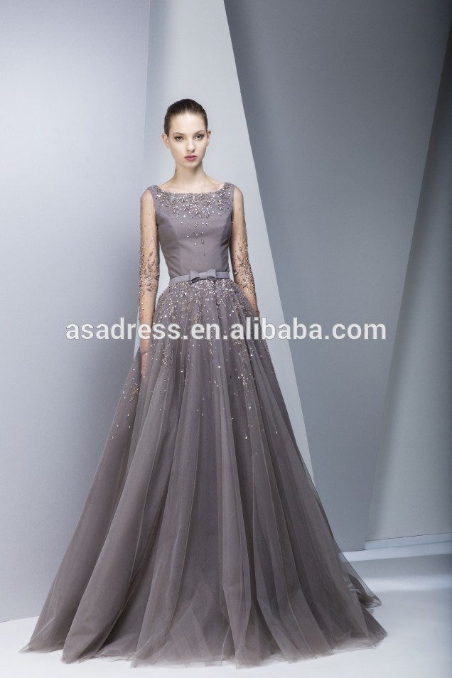 Online Buy Wholesale designer long evening gowns from China ...