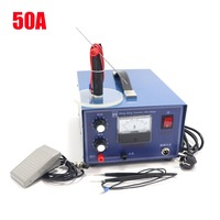 DX50A high power laser spot welder pulse spot welding touch welder welding machine with jewelry equipment