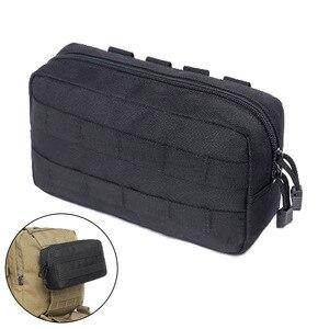 Тактический Молле компактный EDC многоцелевой Admin Утилита Сумка 1000D телефон гаджет инструмент Инструмент журнал сумка рюкзак сумка