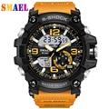 S-Choque Esportes Homens Do Exército Relógios de Marca LEVOU Digital-Relógio Moda de Borracha De Escalada Ao Ar Livre À Prova D' Água Relógio Militar Reloj Hombre