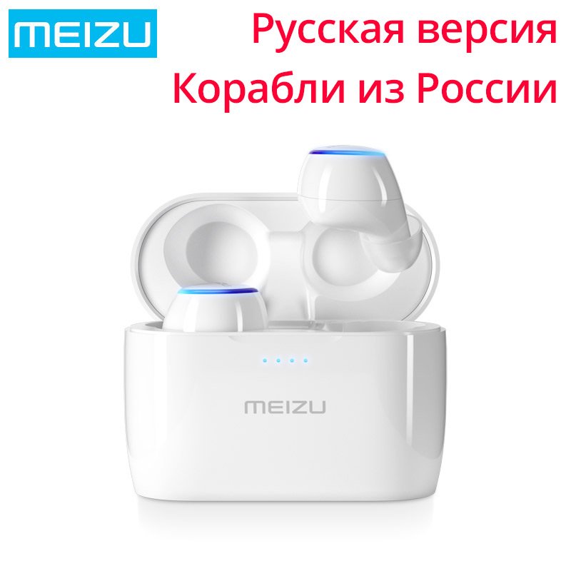 Meizu POP TW50 True Wireless Bluetooth Earphones Mini Sport Bluetooth 4 2 Headset for Meizu Phone