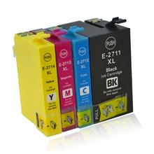 T2711 T2712 T2713 T2714 Ink Cartridge for Epson WorkForce WF7110 WF7610 WF7620 WF3620 WF3820 WF3640 3640D 7110DTW 7610DWF 7620D