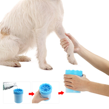 Pet Paw Washer Cup with Soft Bristles