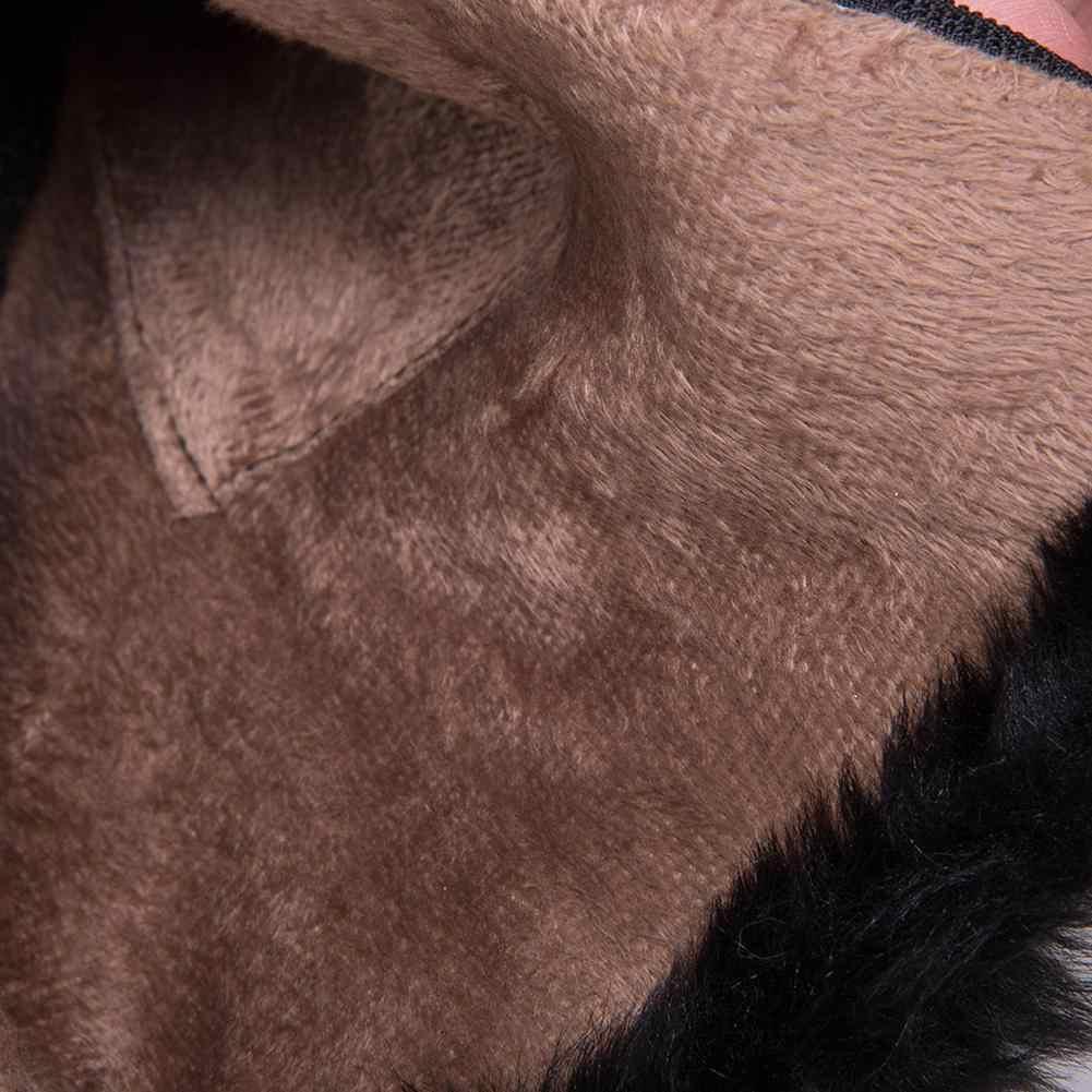 KARINLUNA 2019 Winter Western Hot Koop Plus Size 33-52 Vrouwen Enkellaars Hoge Brede Hakken Bowtie Rits Bont laarzen Schoenen Vrouw