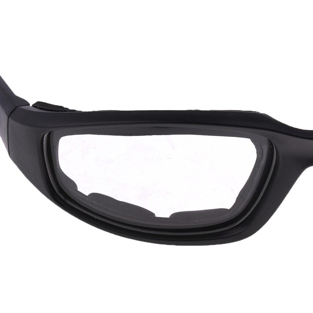Image 3 - Мотоциклетная защита от пыли и ветра очки для верховой езды мягкие удобные прозрачные солнцезащитные очки из ПВХ зеркальные UV400 линзы защитные очки-in Мотоциклетные очки from Автомобили и мотоциклы