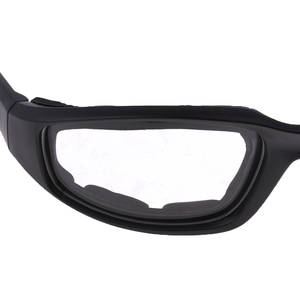 Image 3 - Motorcycle Windproof Dustproof Riding Glasses Padded Comfortable Clear PVC Sunglasses Mirror UV400 Lenses Protection Goggles