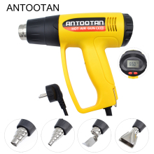 Thermal-Power-Tool Heat-Guns Lcd-Display Electric 220V 2000W Industrial EU