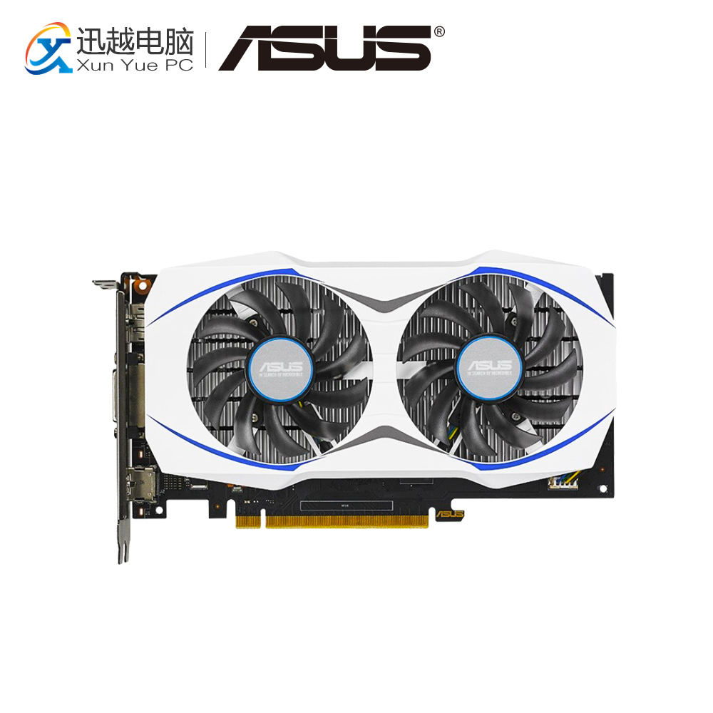ASUS GTX 950-2G Original Graphics Cards 128 Bit GTX 950 GDDR5 Video Card DVI HDMI DP For Nvidia geforce GTX 950 sue fox business etiquette for dummies
