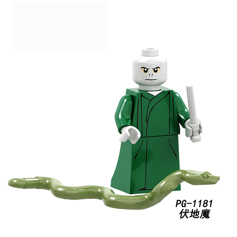 Legoings 71022 Harry Potter Figures Hermione Granger Lord Voldemort Ron Draco Malfoy Building Blocks Bricks Toys Christmas Gift #2