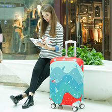 JULY'S SONG Luggage Cover Independent Cartoon Printing Elasticity Dustproof Trolley Case Travel Accessories