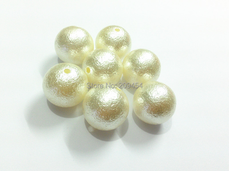цены (Choose Size First) 12mm/16mm/20mm Off White Wrinkle Pearl Beads For Fashion Jewerly Making