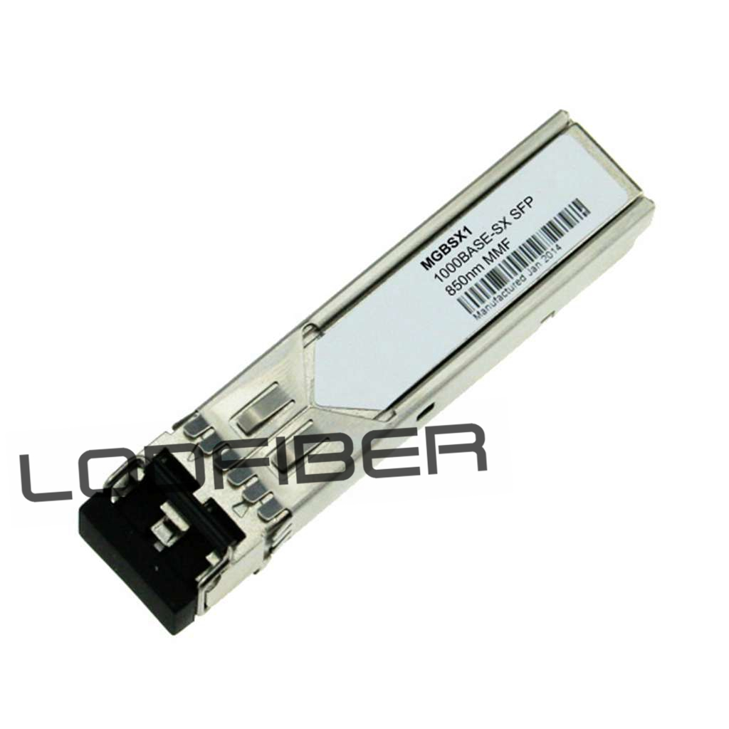 LODFIBER MGBSX1 Cisco Compatible 1000BASE-SX SFP 850nm 550m Transceiver