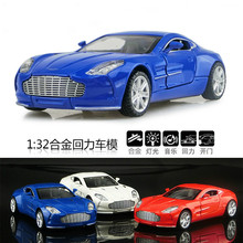 Hot Sell 1:32  Alloy Car Toys for Children Diecast Model Openable Door Belt Sound and Light Birthday Gift Freeshipping