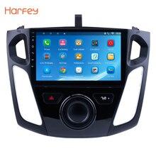 Harfey Android 8,1/7,1 9 «Car gps стерео радио 4 ядра мультимедийный плеер для 2011 2012 2013 2014 2015 Ford Focus Поддержка DVR