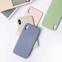 newisdom Original iphone x case Silicone 8plus cover with Hybrid Protection for Apple iPhone Xs Max fitted cases xr 7/8/6s woman