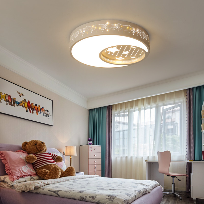 Современный светодиодный потолочный светильник для детской комнаты, Креативный светодиодный потолочный светильник с изображением животн... - 4