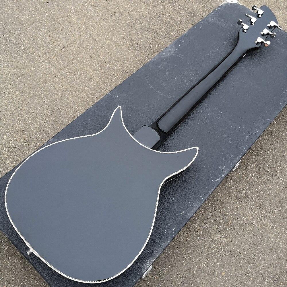 Guitare électrique modèle 350, la touche a de la peinture brillante, l'avant et l'arrière du corps sont liés, de vraies photos! - 5