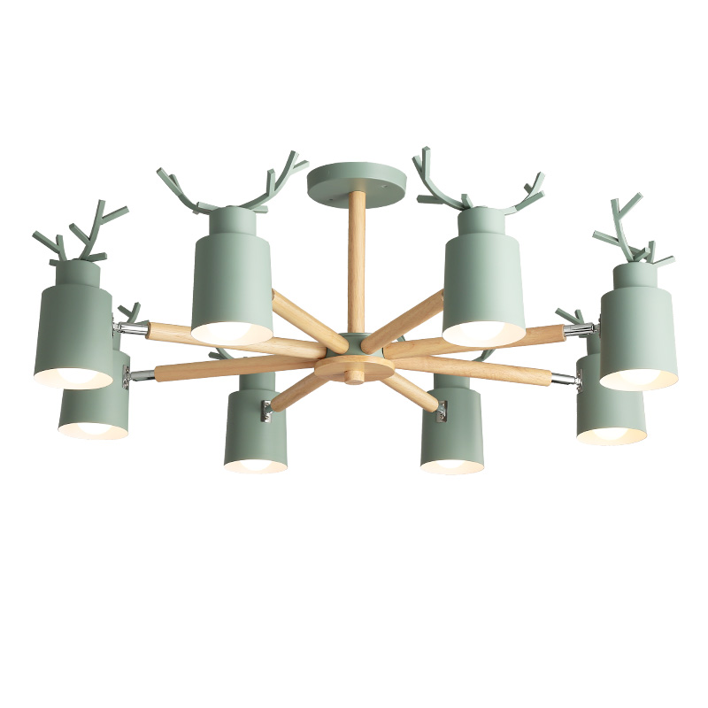 Creative pendant light Antler living room decoration hotel modern pendant lamps decorative macarons colors bedside lamp lightingCreative pendant light Antler living room decoration hotel modern pendant lamps decorative macarons colors bedside lamp lighting