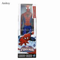 12 30CM Marvel Spiderman Ultimate Spider Man PVC Action Figure Collectible Model Toy