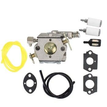 Kit de carburador para Tecumseh 640347 TM049XA TC200 TC300 W/línea de  combustible de juntas nuevo