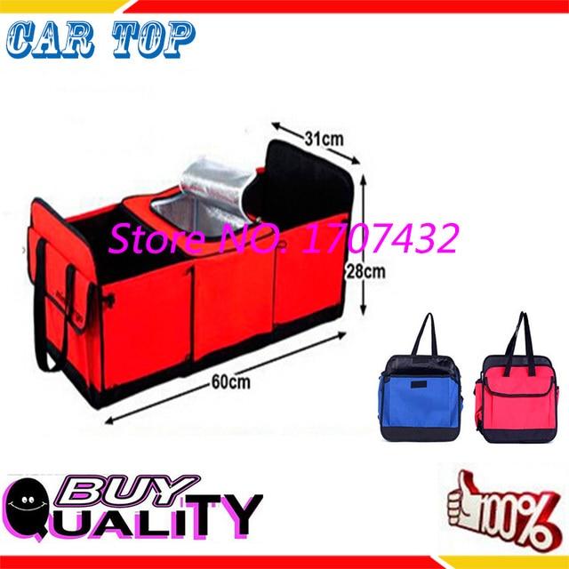 НОВЫЙ багажнике сумка для хранения Ткань Оксфорд складной ящик для хранения грузовик Багажнике автомобиля Tidy Сумка Организатор Хранения Коробка с КРАСНАЯ сумка-холодильник