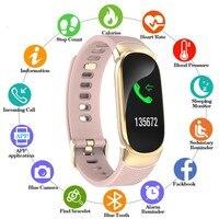 Women Sport Smart Watch Men LED Waterproof SmartWatch Heart Rate Blood Pressure Pedometer Watch Clock For Android iOS