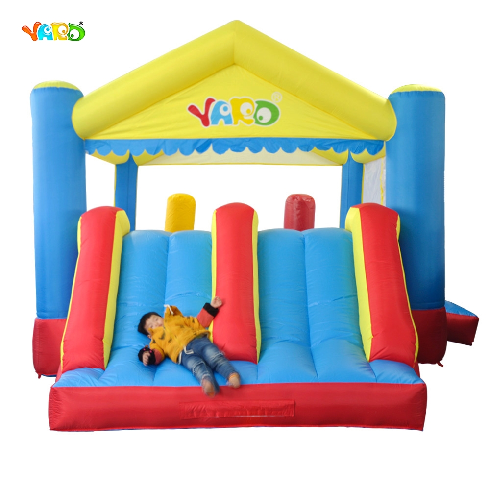 YARD Free Shipping Inflatable Bouncer Dual Slide Bouncy Jumper Giant Jumping House Obstacle Combo For Kids Exercise yard free shipping bouncy dream castle inflatable jumper bouncer 6 in 1 all round obstacle combo for home use