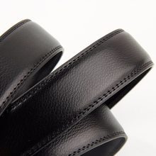 Mens' Genuine Leather Automatic Buckle Belt