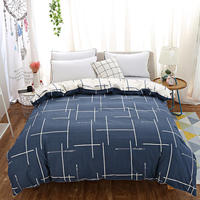 100% Cotton Bed Set Bedroom Duvet Cover Quilted Cover Duvets Comforter Cover with Zipper Queen King Twin Full Size Edredon