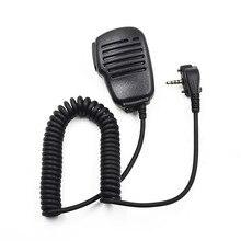 El hoparlör mikrofon Mic PTT Vertex standart taşınabilir radyo VX231 VX230 VX 231 VX160 VX168 VX180 VX417 Walkie Talkie