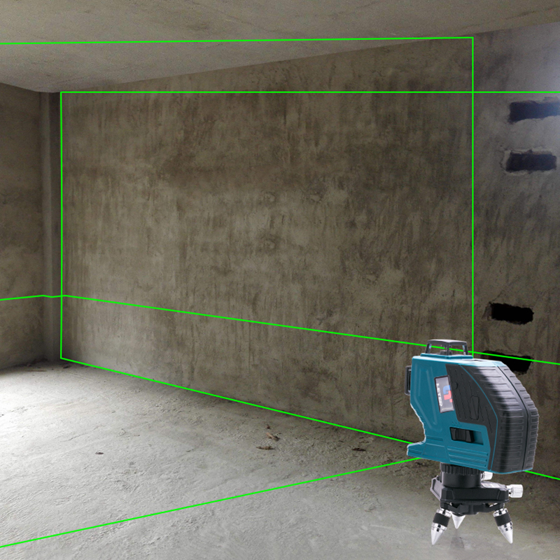 Leter 12 linhas de nível de laser 3d auto-nivelamento de 360 graus linha de feixe de laser de alta precisão