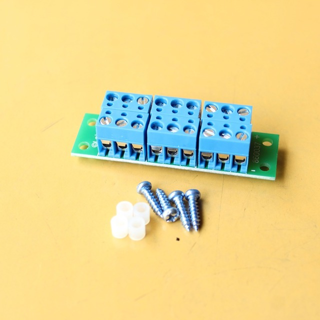 860037 1 Set Power Distribution Board 2 Inputs 8X2 Outputs for DC and AC Voltage model train HO scale railway modeling/LaisDcc