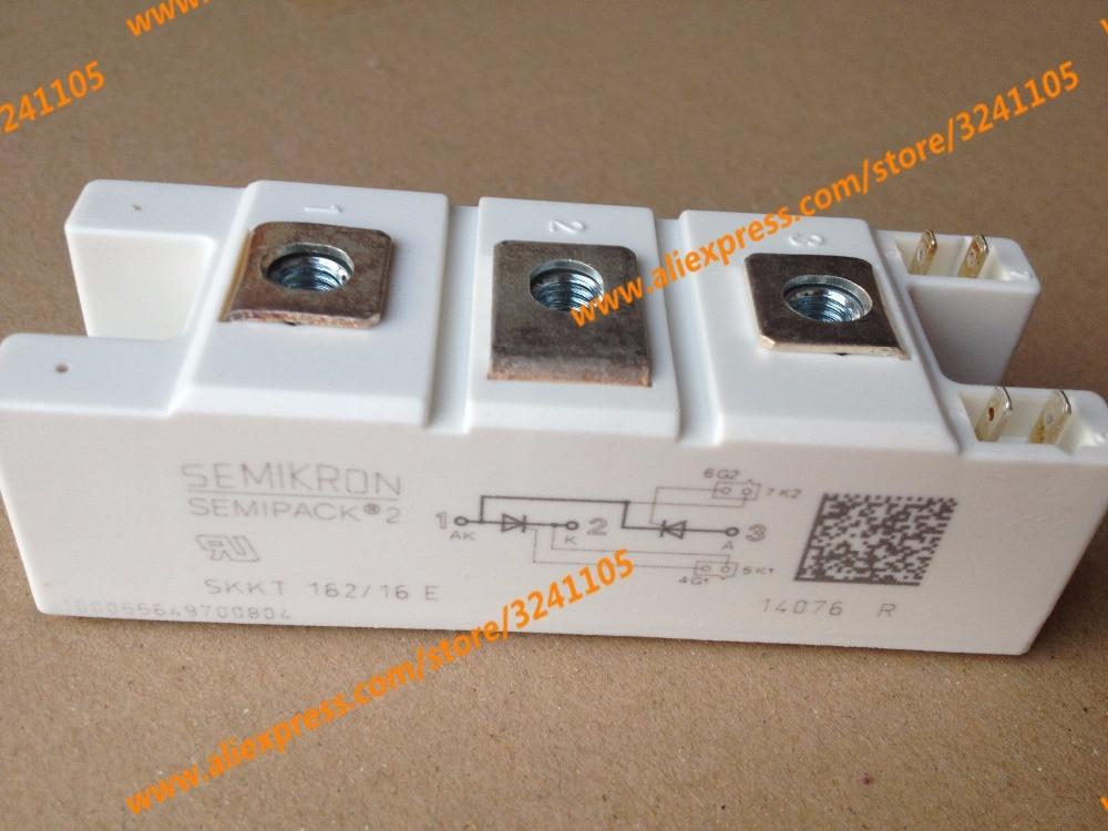 Free shipping NEW SKKT162/16E MODULE saimi controlled semikron skkt162 16e brand new original scr module non domestic