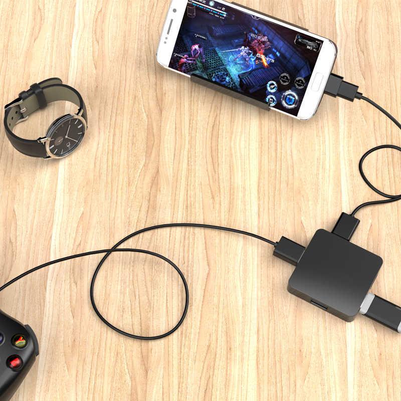 Micro USB Sang USB OTG Adapter Dành Cho điện thoại di động Android Samsung HTC LG Sony Nokia Máy Tính Bảng Máy Tính kết nối với Đèn Flash Ổ Chuột