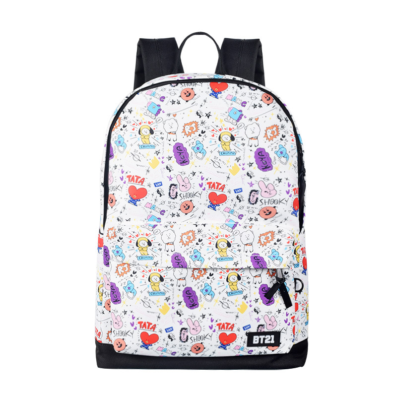 Luggage & Bags Seventeen Same Paragraph Backpack Male And Female Student Bags Canvas Travel Backpack Computer Bag 2018 New Backpacks