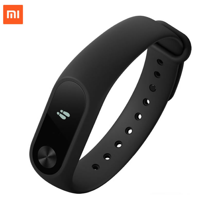 Originale Xiaomi Mi Band 2 Wristband Opzionale Cinghie Colorate Sonno Tracker IP67 Impermeabile Smart Mi Band Per Android IOS Cellulari