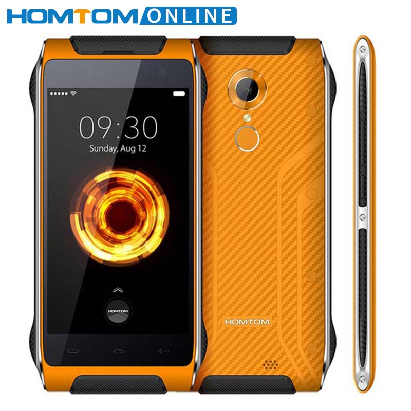 Original HOMTOM HT20 PRO IP68 Wasserdichte Smartphone MTK6753 Octa-core 8.0MP 4,7 Zoll 3G RAM 32G ROM 4G Fingerprint ID FDD-LTE
