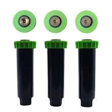 Aspersores ajustáveis pop up, com 1/2 Polegada fio feminino 90-360 graus retráteis automáticos irrigação sprinkler 5 peças