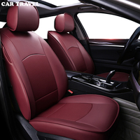 CAR TRAVEL auto custom real leather car seat cover for Porsche Macan panamera Cayenne Boxster Automobiles Seat Covers car seats