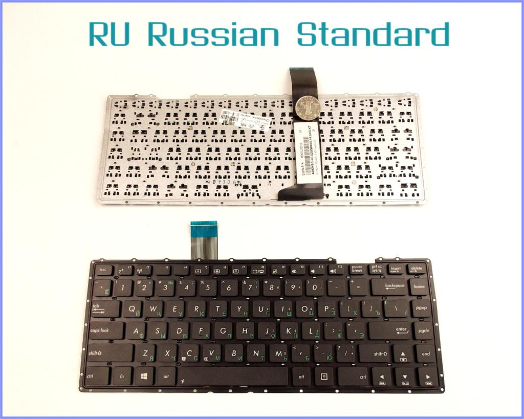 Russian RU Version Keyboard for ASUS A450Ld A450 A450V A450C A450CA A450CC X450L X450LA X450LAV Laptop No Frame