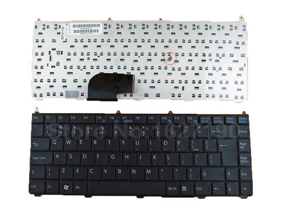 US Keyboard For SONY VAIO VGN-FE BLACK Big Enter New Laptop Keyboards With Free Shipping new for sony vgn fj series laptop us keyboard 147951221 black