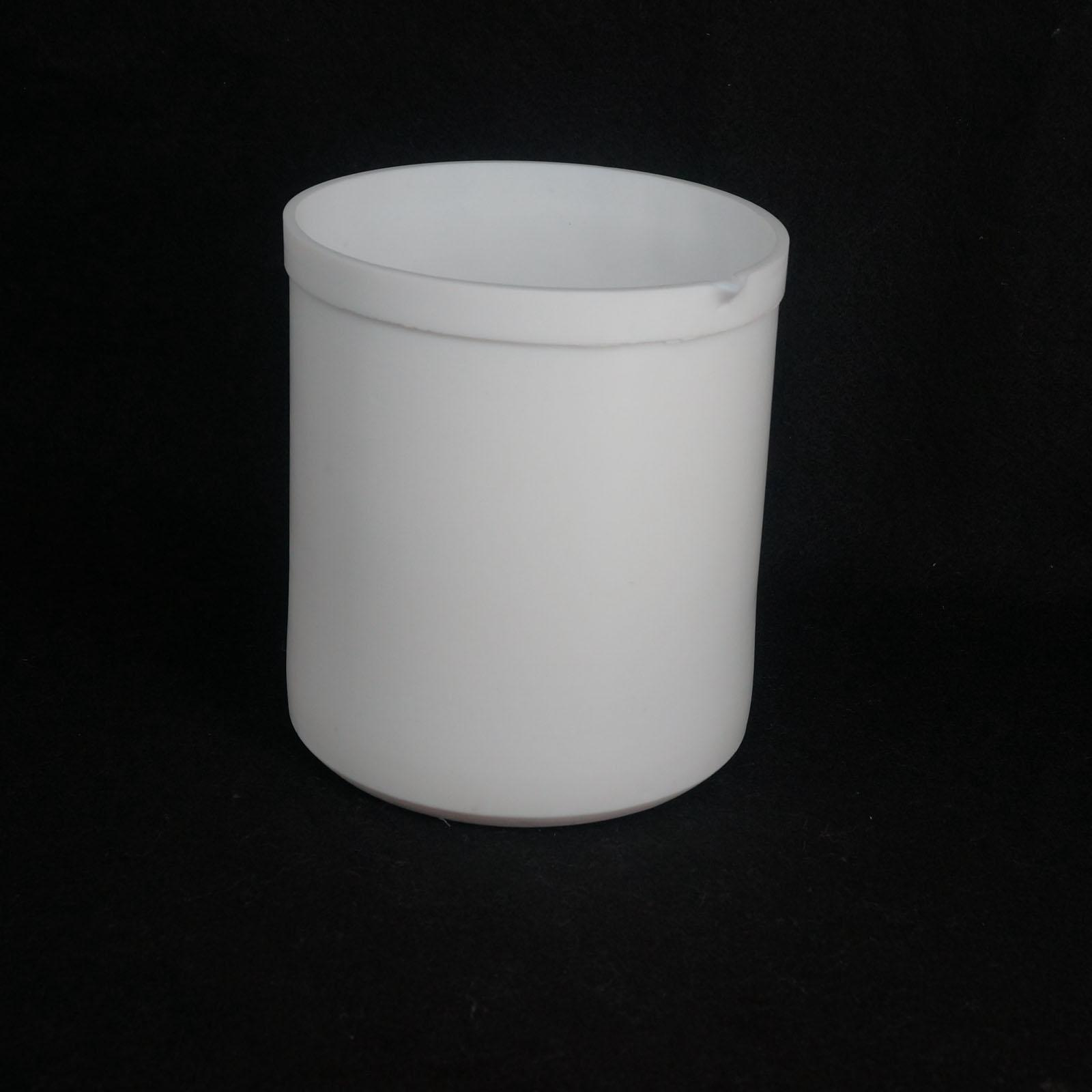 2000ml White Measuring Beaker PTFE Teflon Silicone Laboratory Ware High Quality 200ml ptfe beaker teflon beaker no handle chemical labware