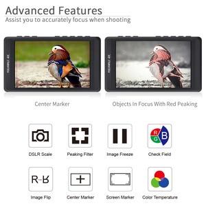 """Image 5 - Feelworld fw450 4.5 """"ips 4 k hdmi câmera monitor de campo 1280x800 hd portátil lcd monitor para dslr com pico campo verificação foco"""
