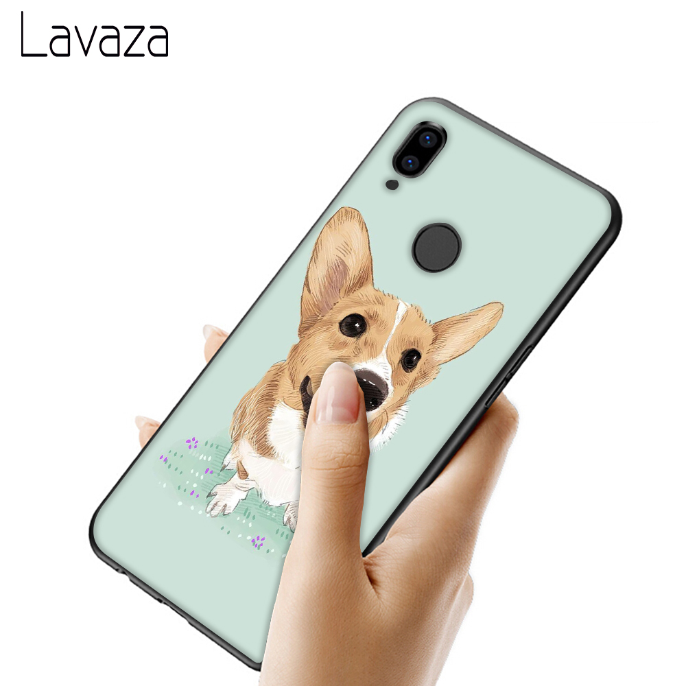 Lavaza Cute Corgi cartoon Dog Soft TPU Case for Xiaomi Mi 6 9 SE A1 8 A2 Lite Mix 2s Max 3 for POCOPHONE F1 Cover in Fitted Cases from Cellphones Telecommunications
