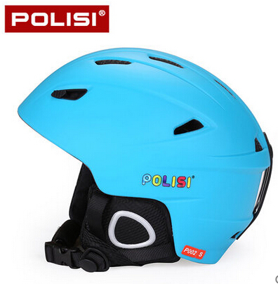 POLISI Children Kids Skiing Skate Skateboard capacete Professional Ski Snow Helmet Ultralight Integrally-Molded Snowboard Helmet koston longboard skateboard scooter black skate helmet