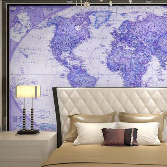 Online shop the world map english version background wall mural the world map english version background wall mural wallpaper gumiabroncs Choice Image