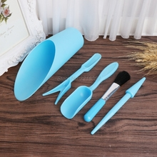 5Pcs Gardening Tools Set Miniature Shovel Brush Widger.Succulent Planting Helper Aug24 Drop Ship
